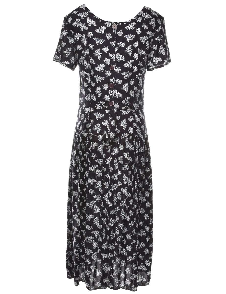 Beyond Retro 2000s Floral Print Dress - M