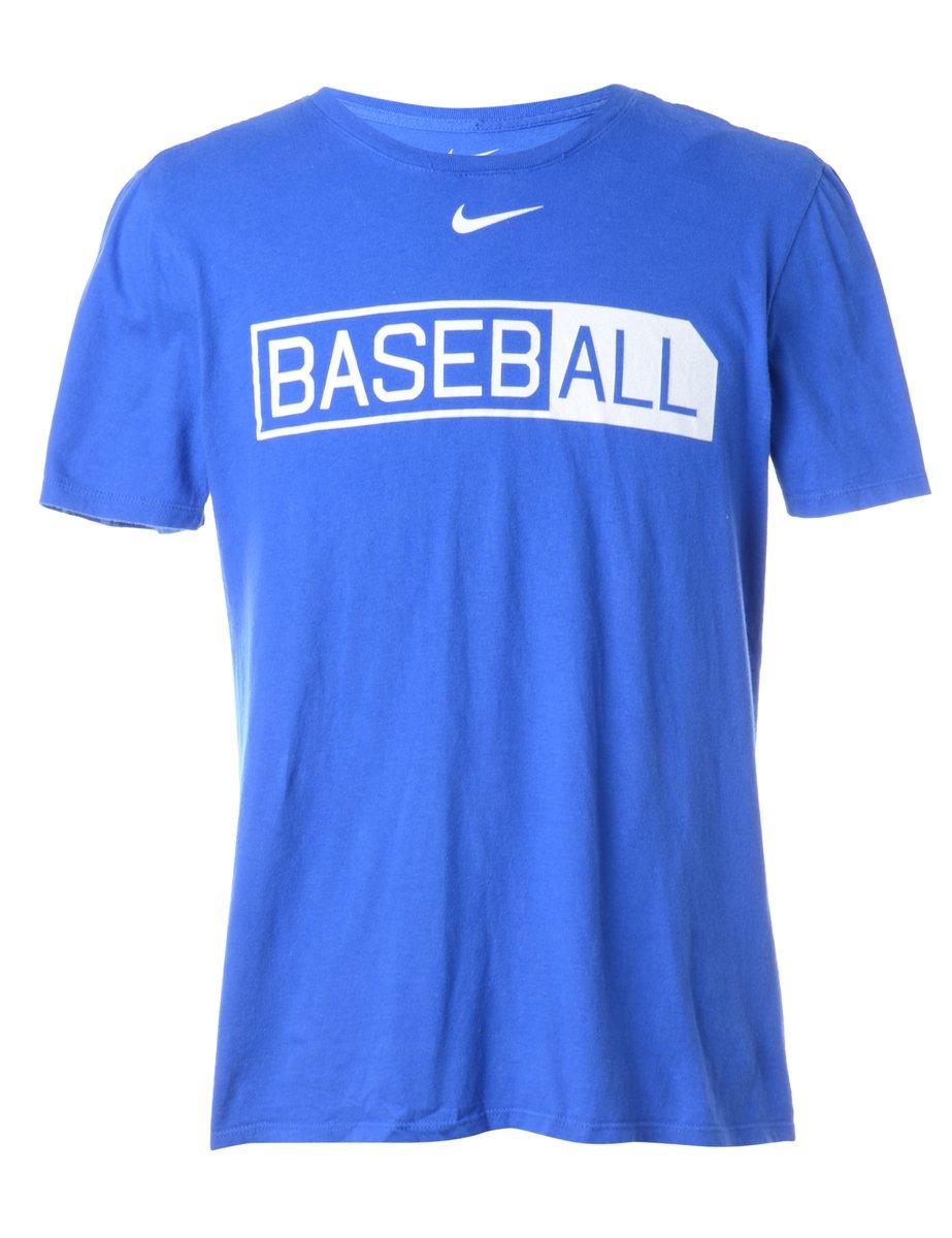1990s Nike Sports T-shirt - M