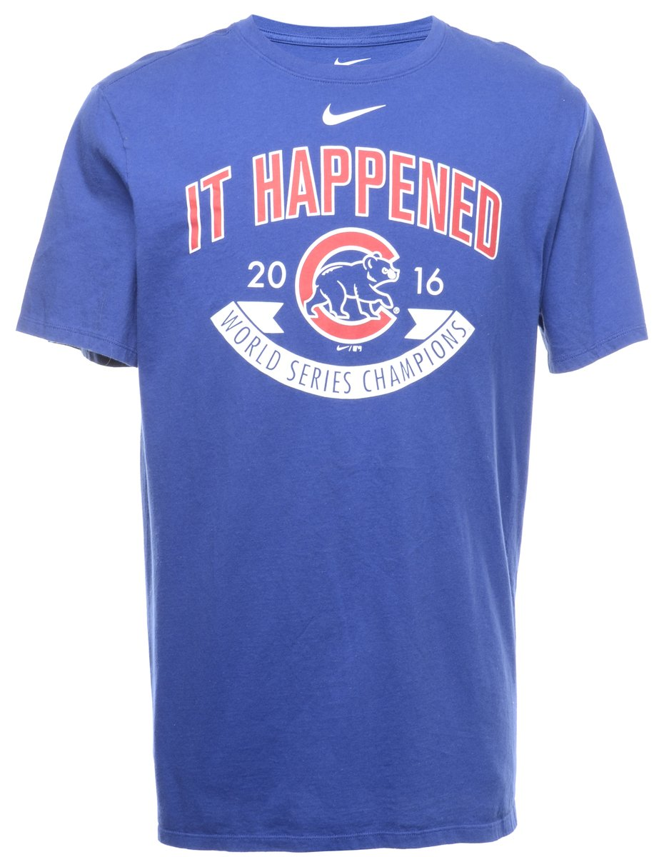 2000s Nike It Happened Printed T-shirt - XL