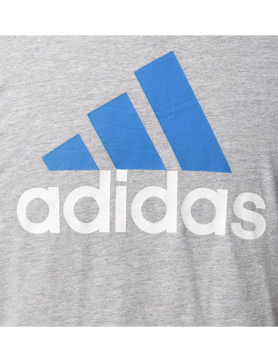 1990s Adidas Sports T-shirt - S