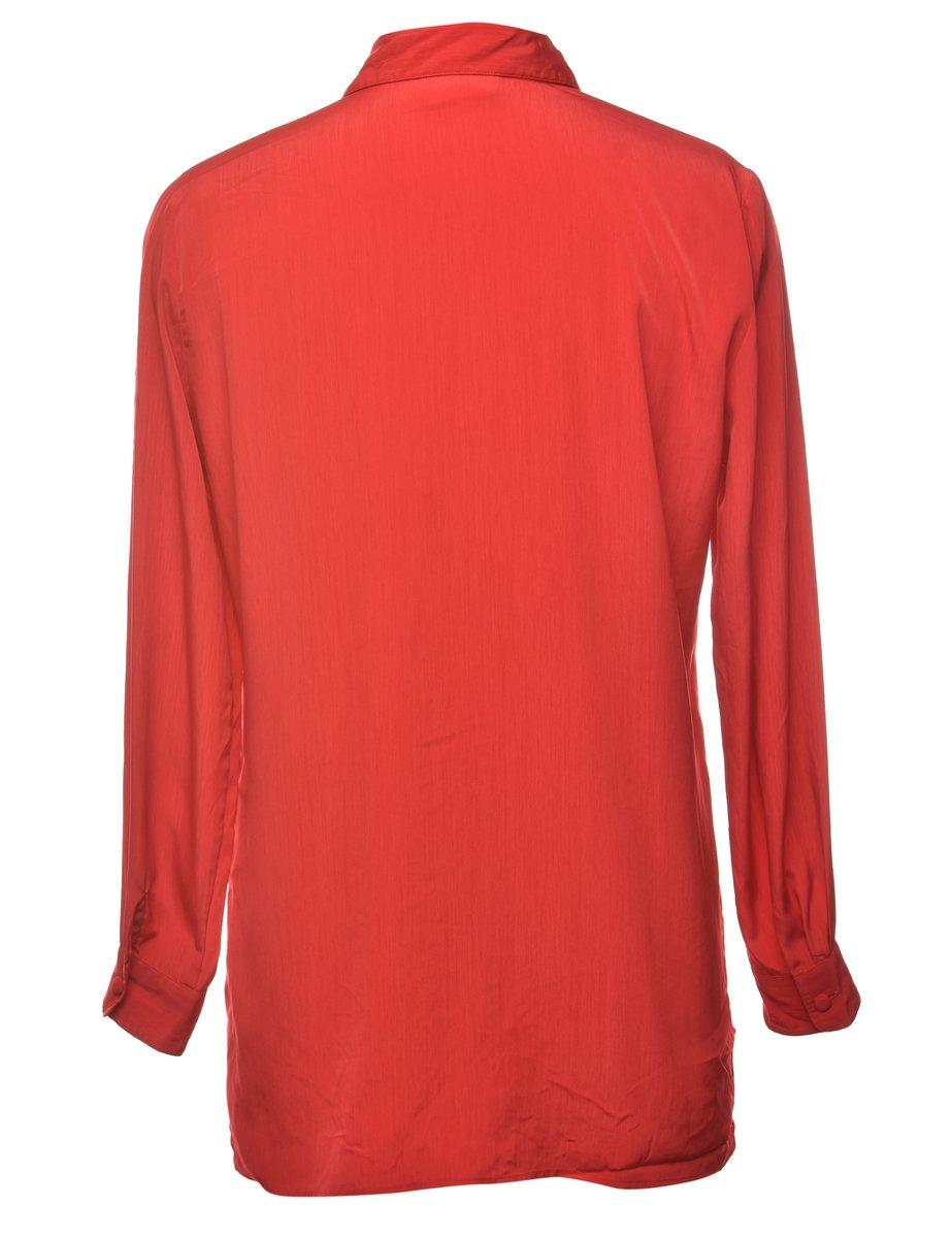 Beyond Retro 1990s Red Shirt - L