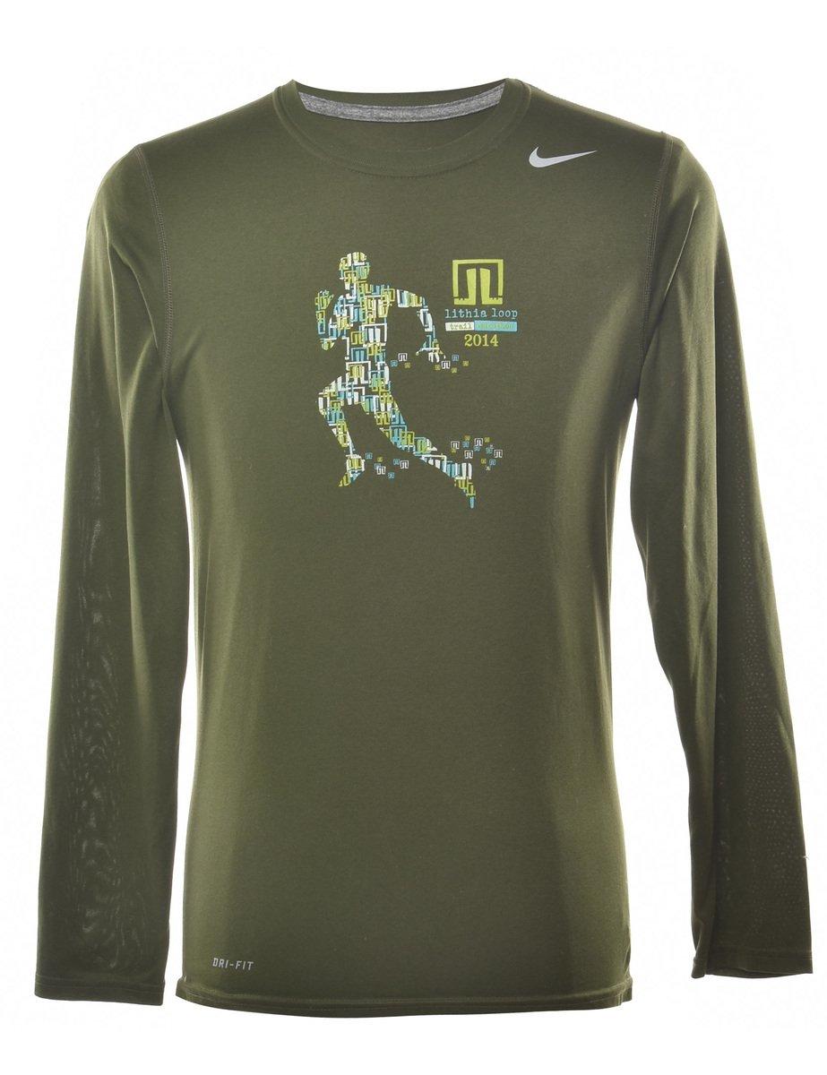 2000s Nike Lithia Loop Printed T-shirt - S