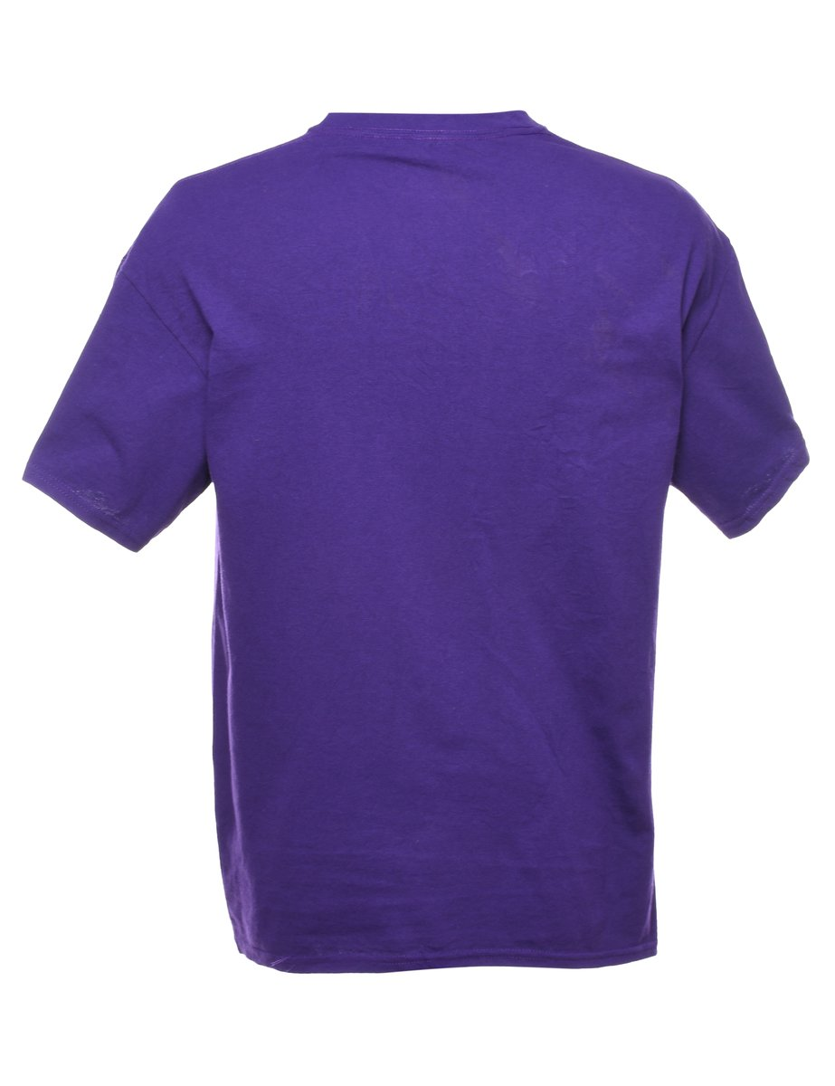 Beyond Retro 2000s Apple Cup Printed T-shirt - L