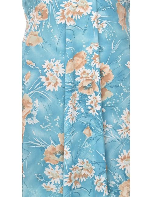 Beyond Retro 1970s Floral Print Maxi Dress - L