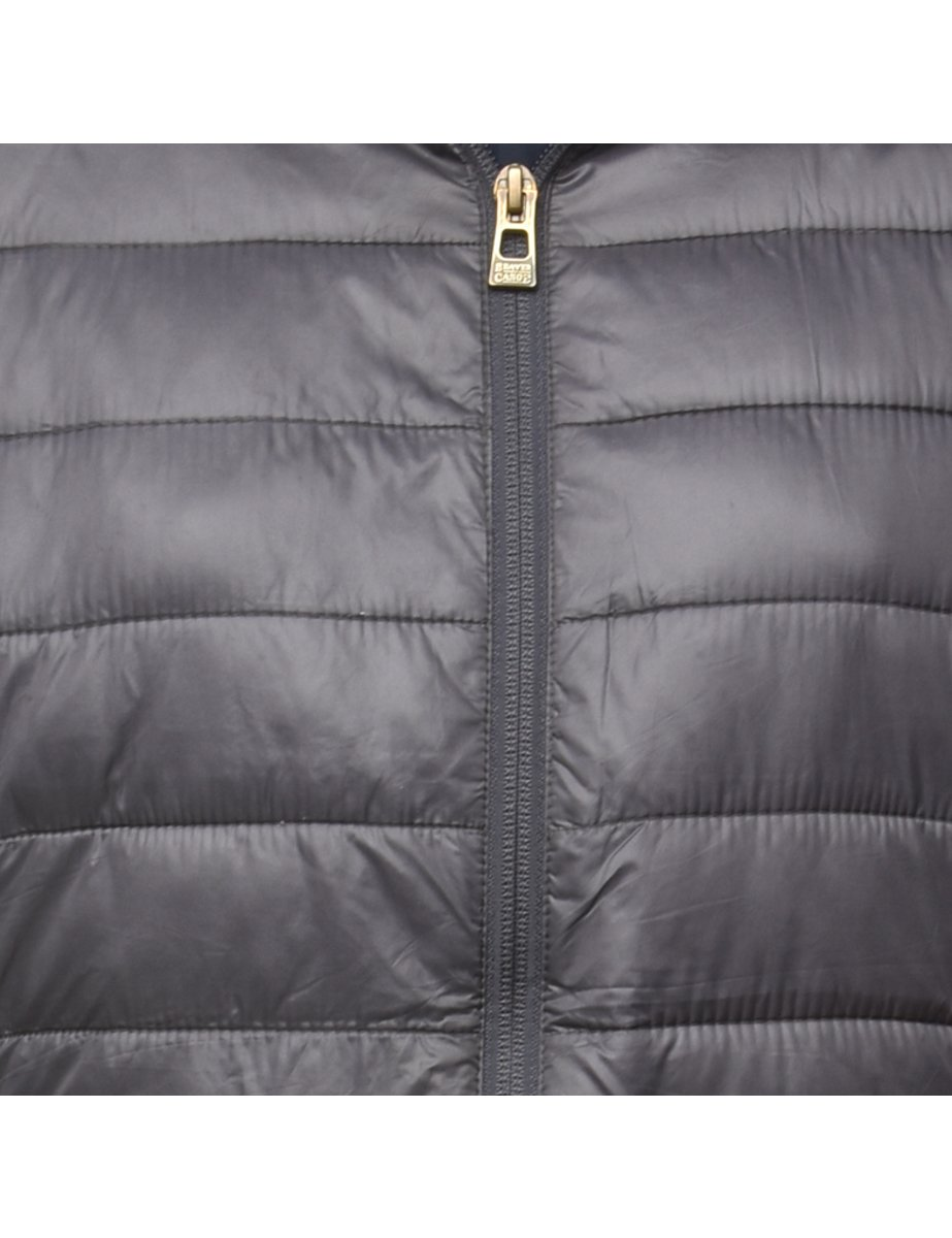1990s Hooded Puffer Jacket - M