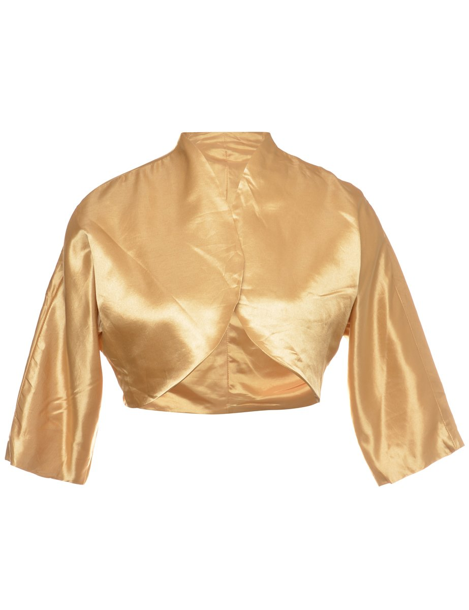 1990s Shiny Evening Jacket - M