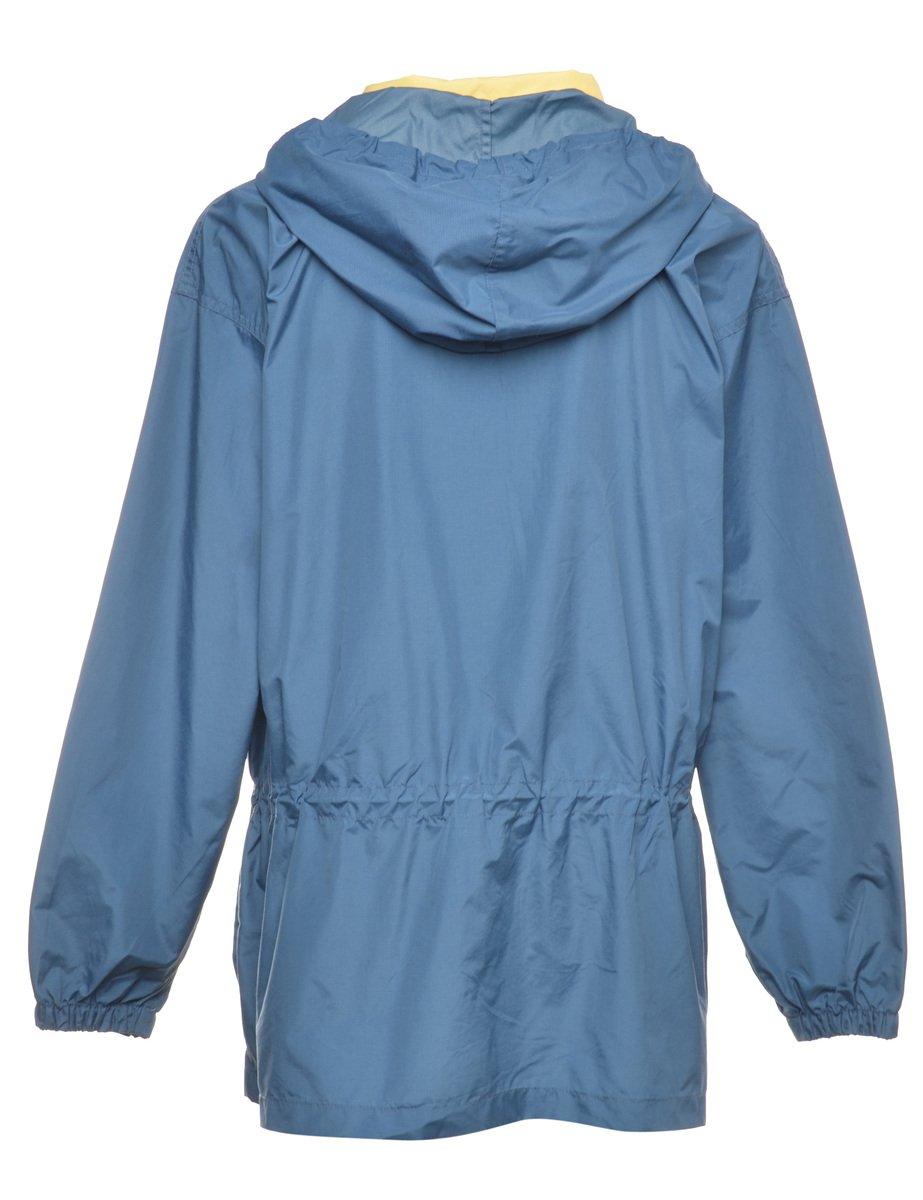 1990s Hooded Nylon Jacket - L