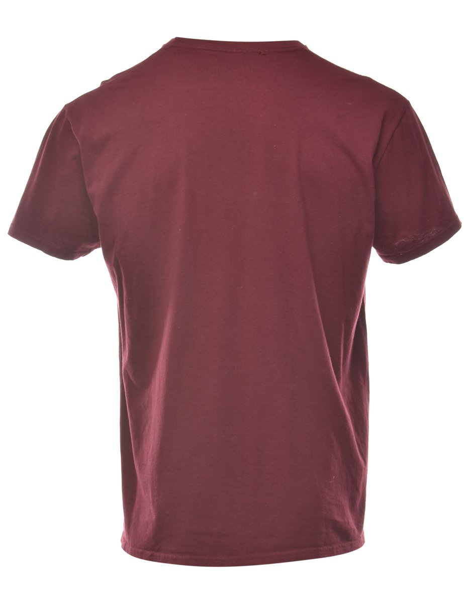 Beyond Retro 2000s Harry Potter Griffindor Quidditch Printed T-shirt - XL