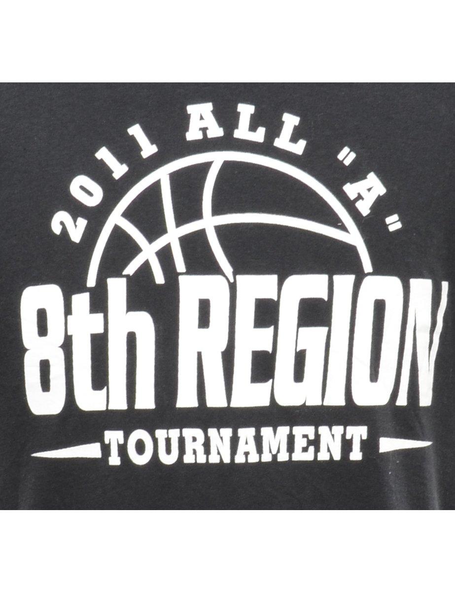 Beyond Retro 2000s 8th Region Tournament Printed T-shirt - XL