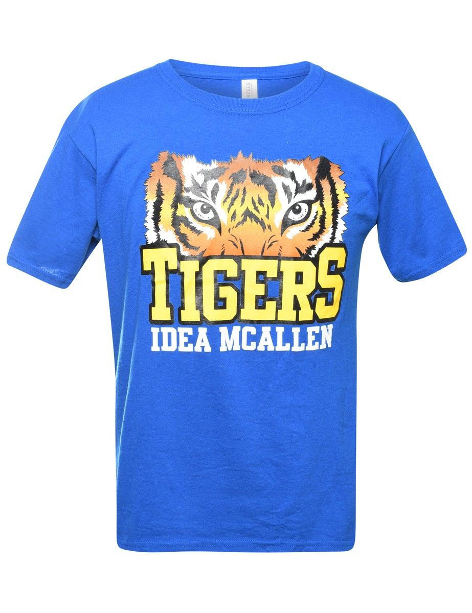 2000s Tigers Animal T-shirt - M