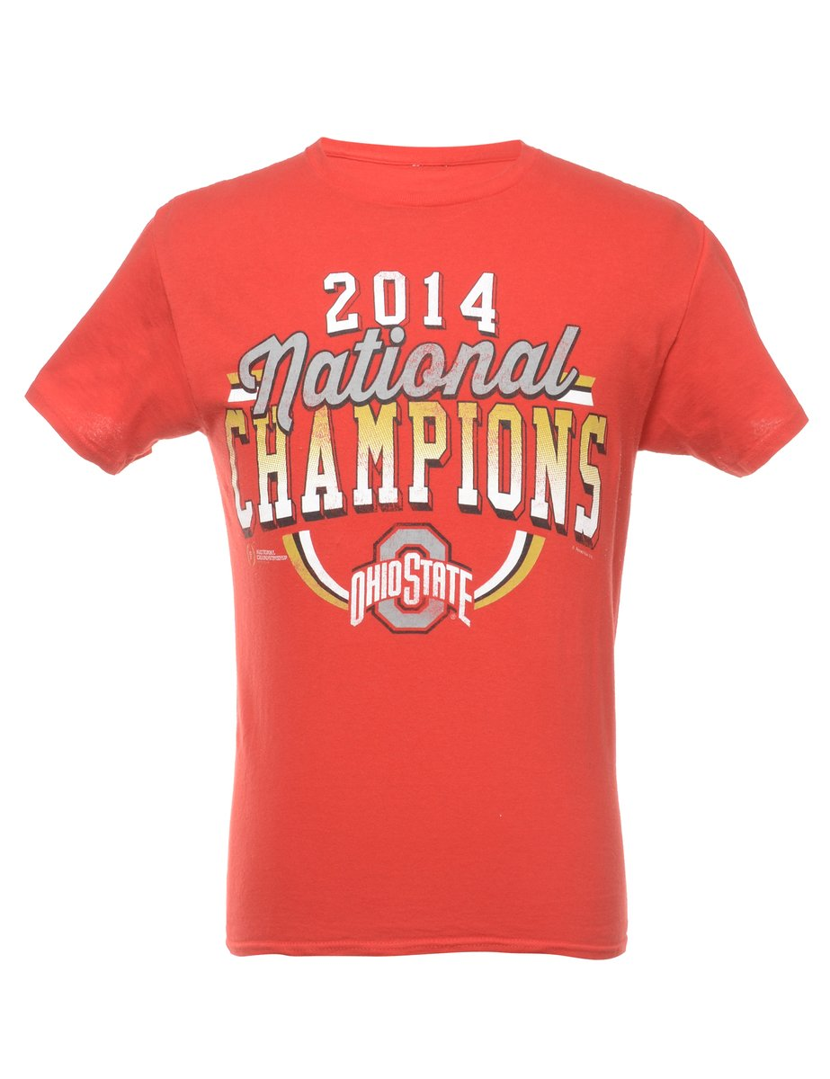 Beyond Retro 2000s Ohio State Printed T-shirt - S