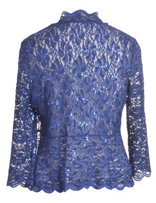 Beyond Retro 1990s Floral Lace Evening Jacket - M
