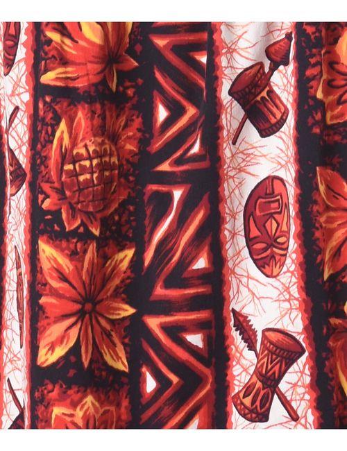 1980s Floral Pattern Dress - M