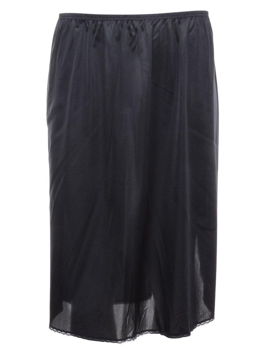1990s Black Underskirt - S