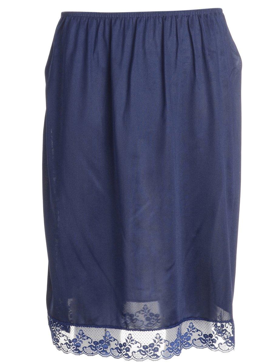 1990s Navy Underskirt - S