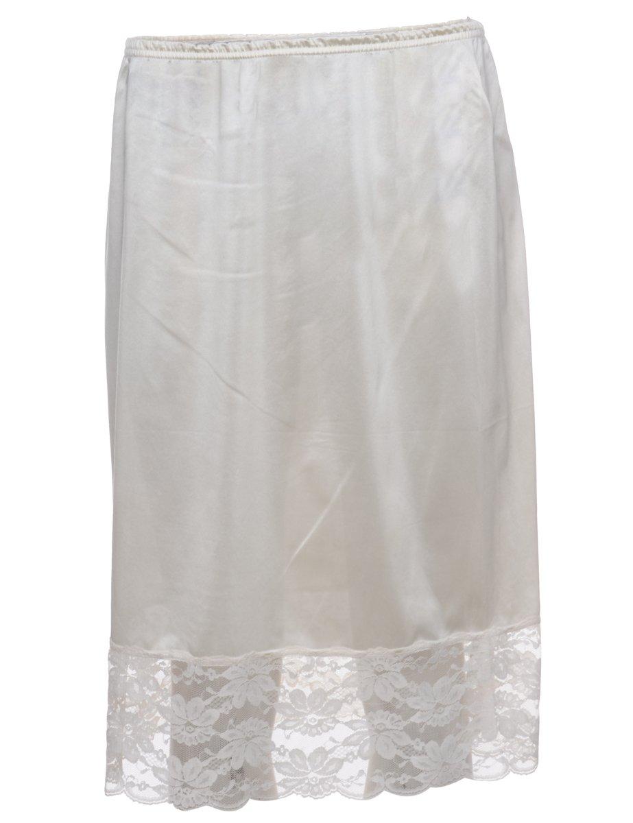 1990s Cream Underskirt - S