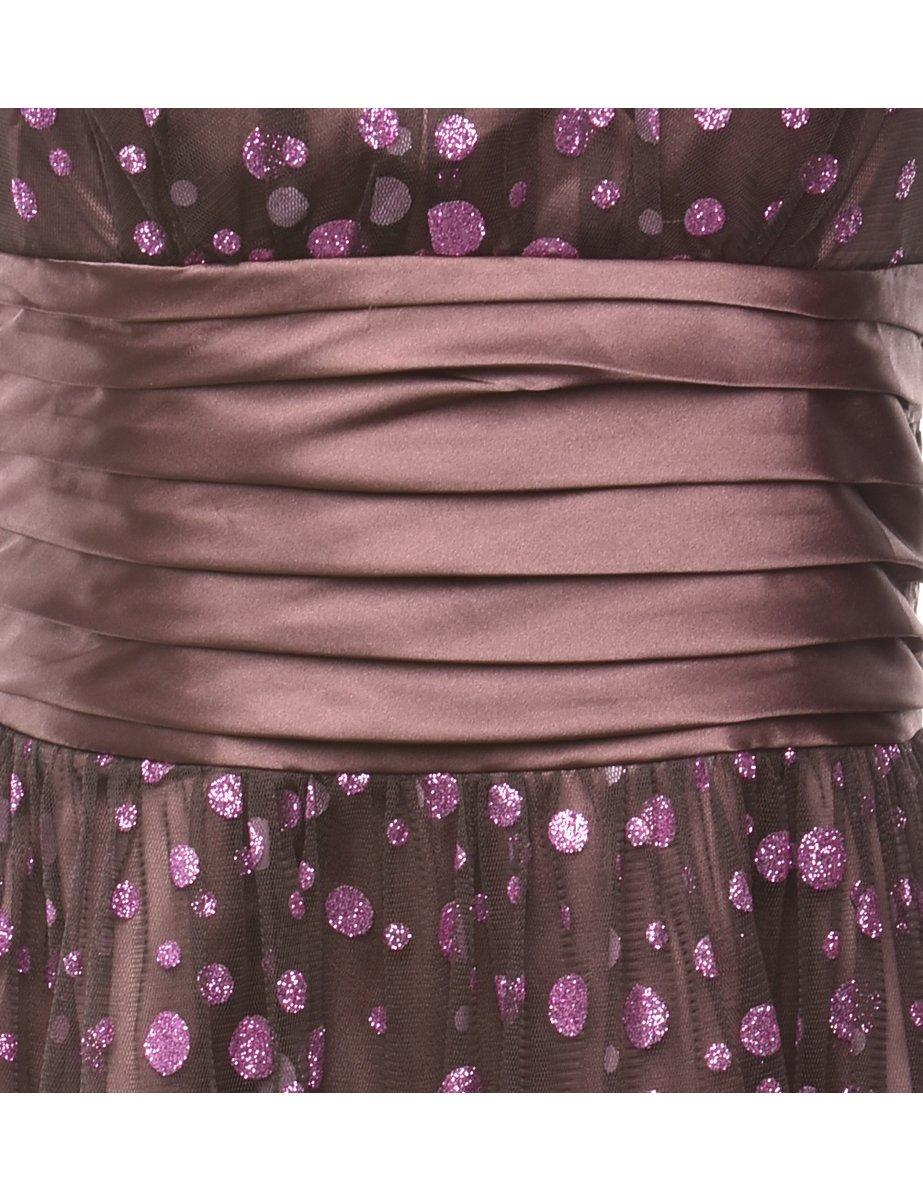 Beyond Retro 2000s Strapless Evening Dress - M