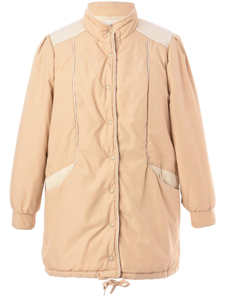 1990s Light Brown Jacket - L