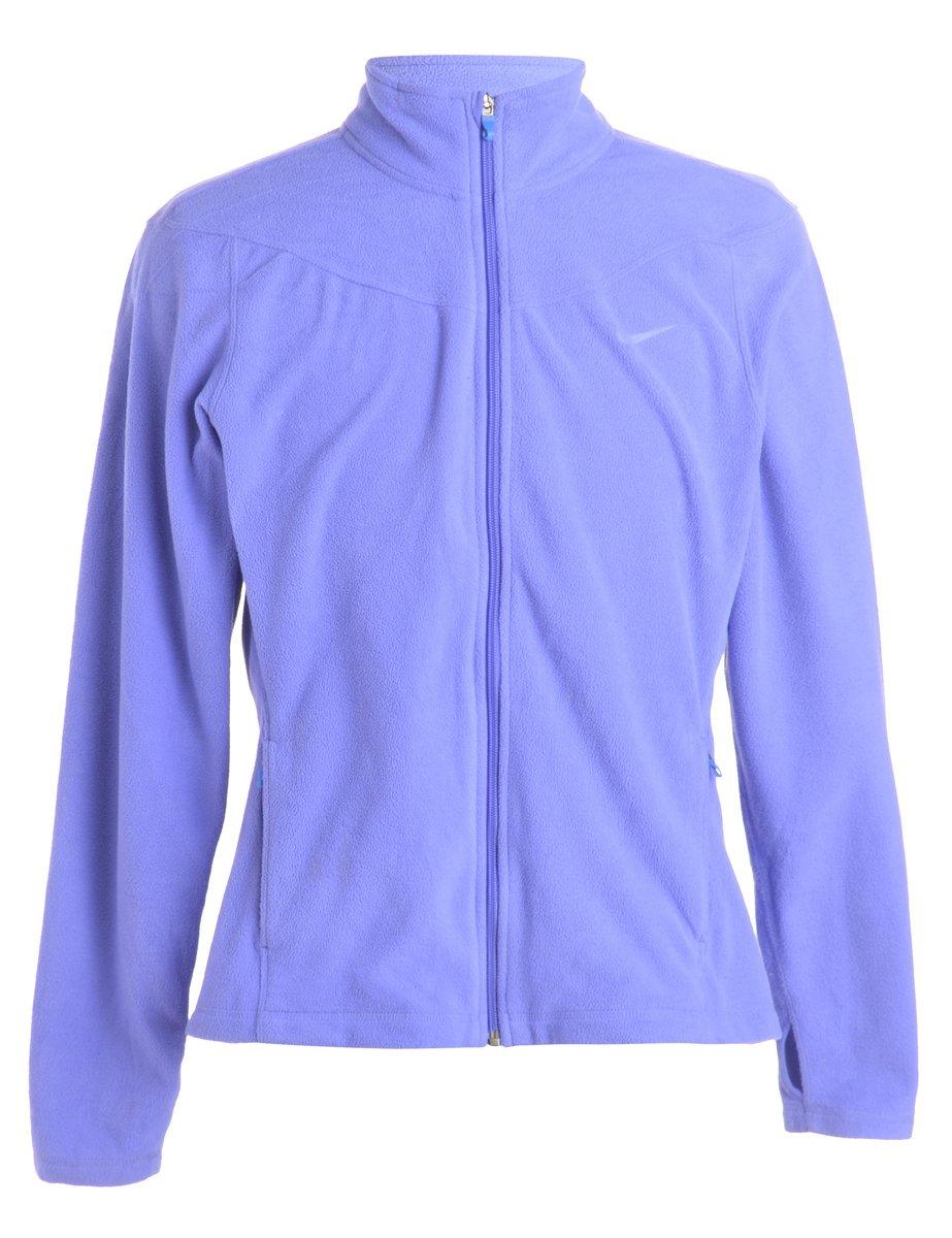 1990s Nike Fleece Jacket - XL