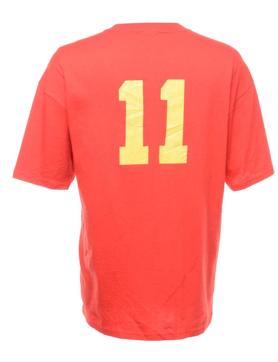 Beyond Retro 1st Draft Printed T-shirt - XL