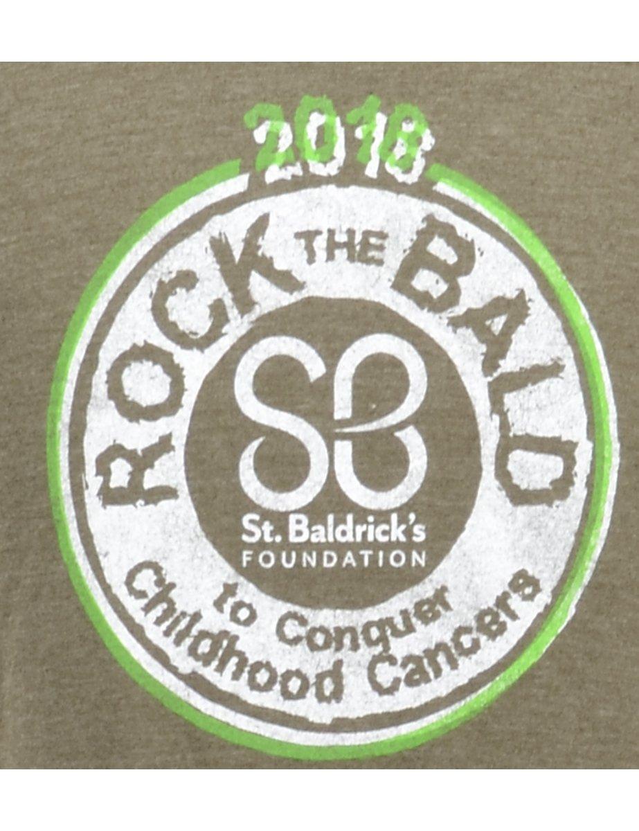 Beyond Retro 2000s Rock The Bald Printed T-shirt - S