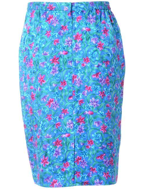 Beyond Retro 1990s Floral Pencil Skirt - S