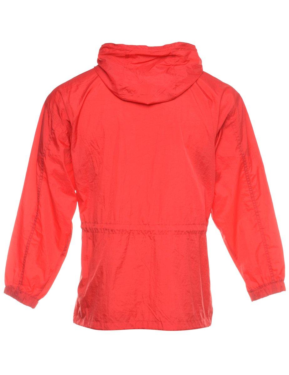 1990s Hooded Nylon Jacket - M