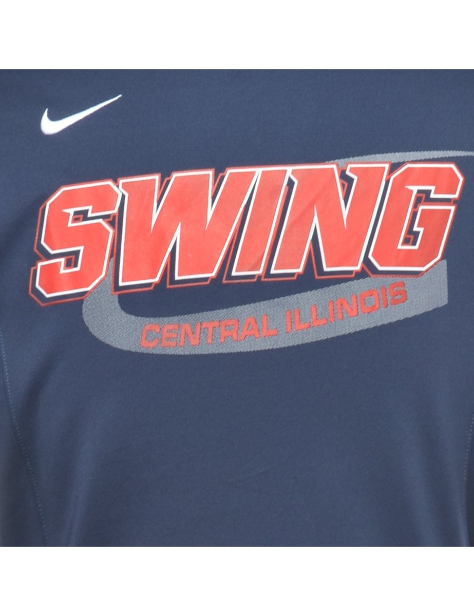 1990s Nike Swing Central Illinois Sports T-shirt - S