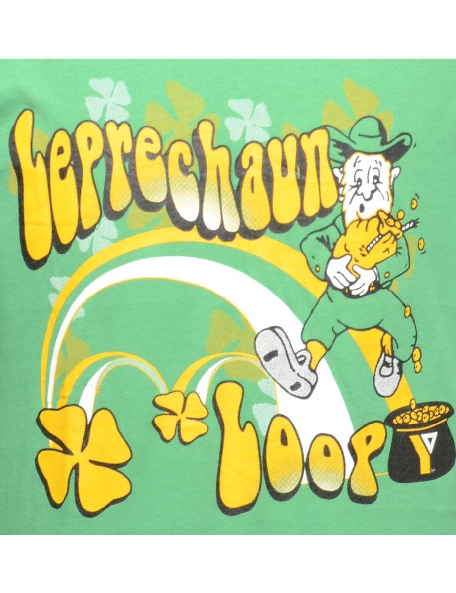 Beyond Retro 2000s Leprechaun Loop Printed T-shirt - L