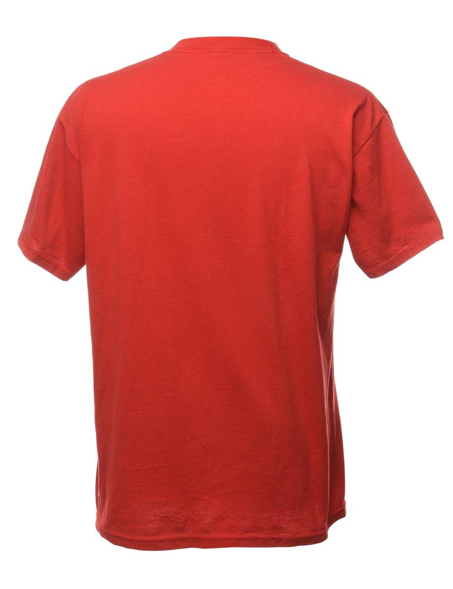 Beyond Retro 1990s Wabaunsee Sports T-shirt - L