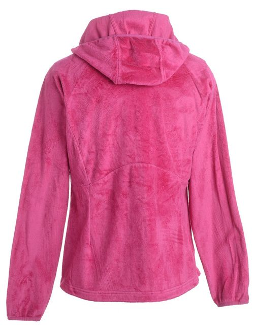 1990s Hooded Fleece Jacket - M