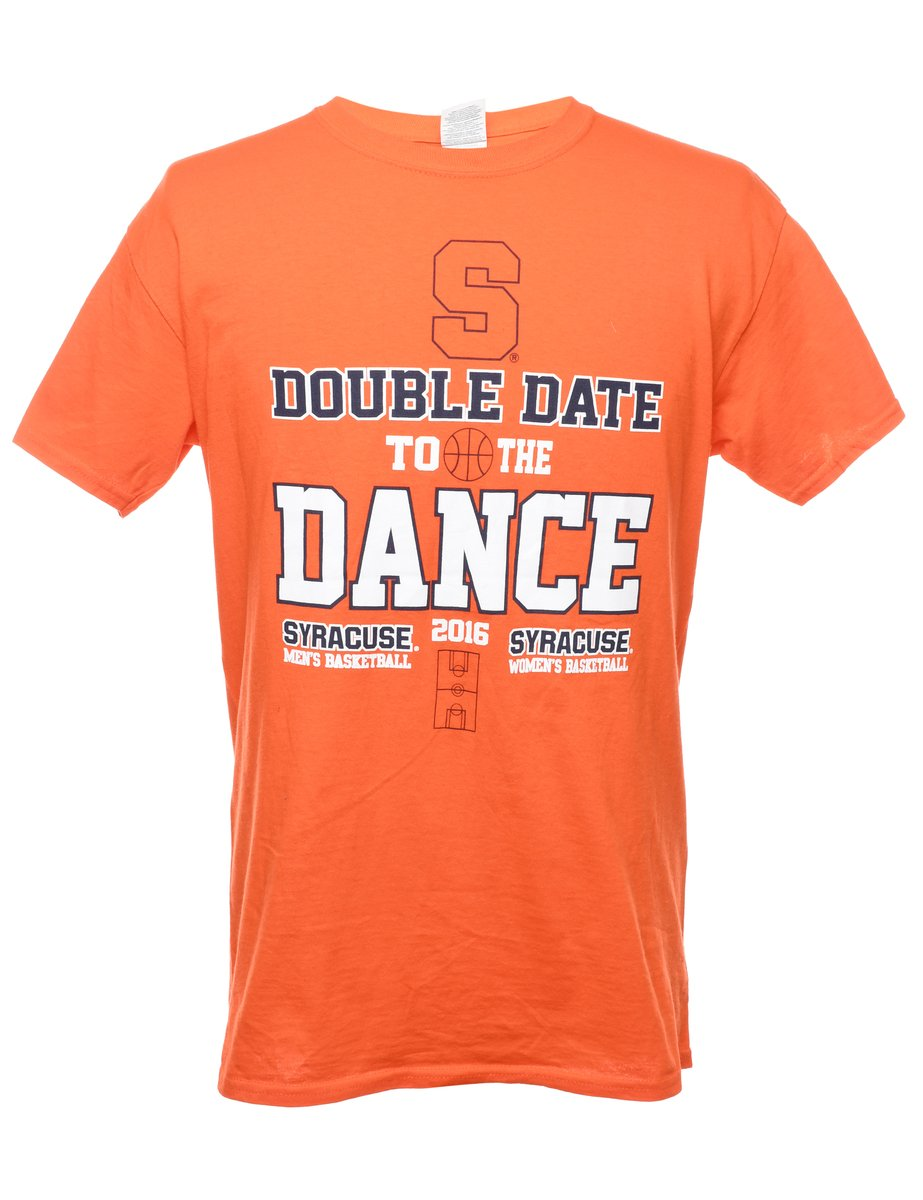 Beyond Retro 2000s Double Date To The Dance Syracuse Printed T-shirt - M