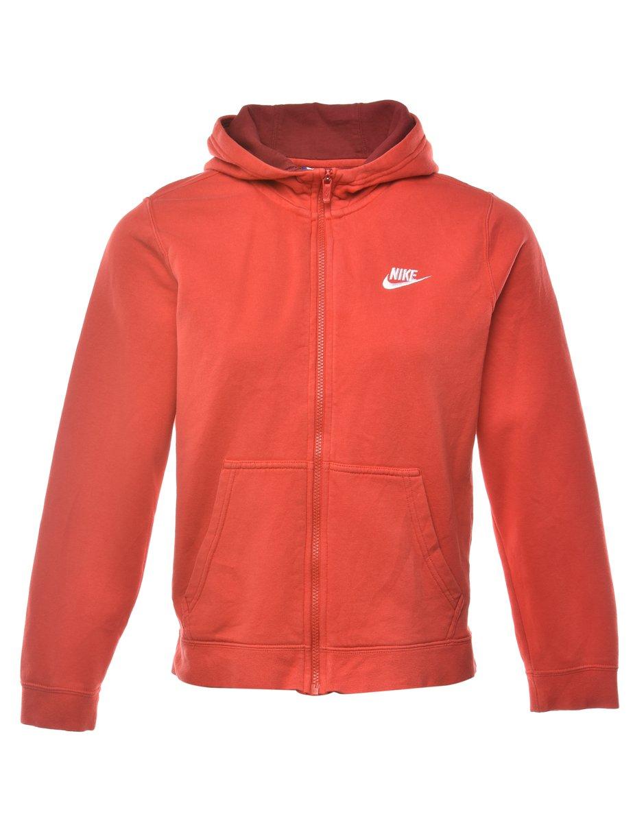 1990s Nike Hooded Sporty Jacket - S