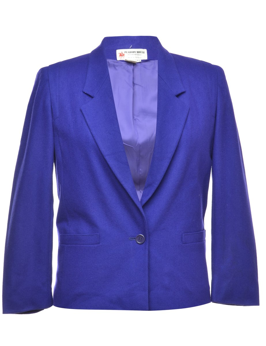 1990s Purple Blazer - M