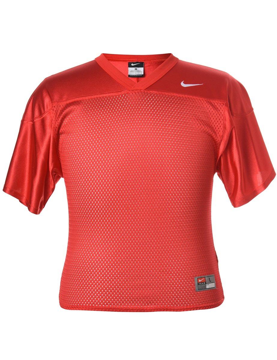 1990s Nike Plain T-shirt - L