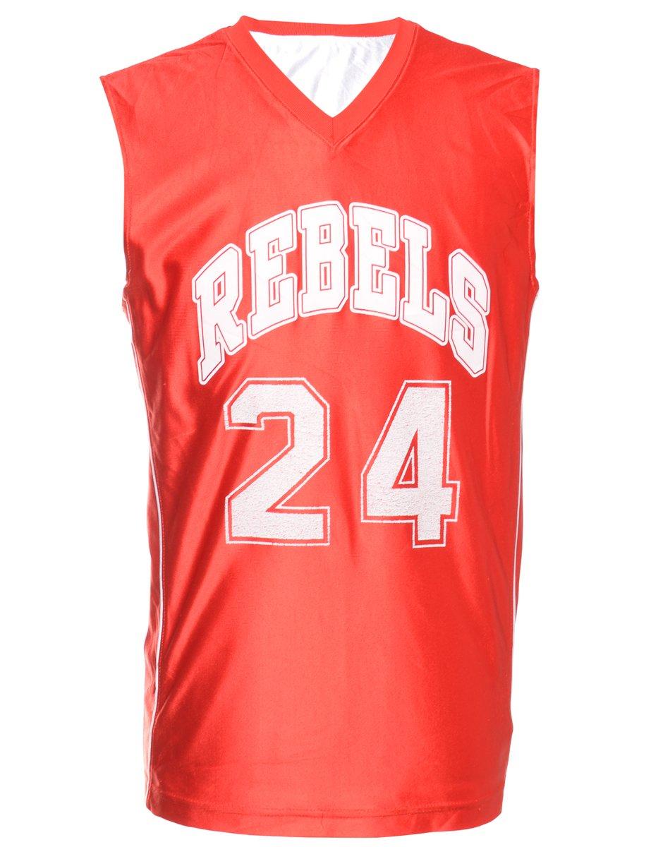 1990s Red Rebels Vest - L