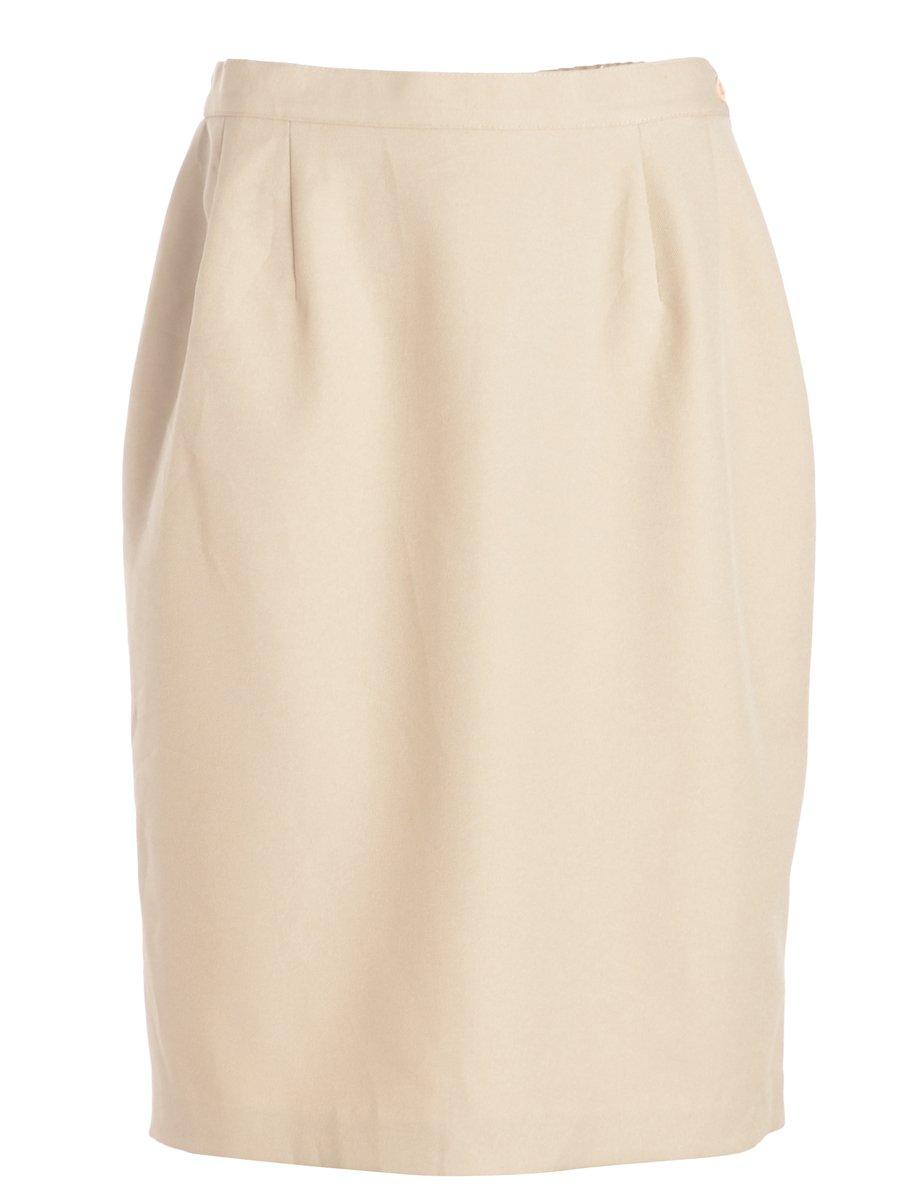 1990s Light Brown Skirt - M