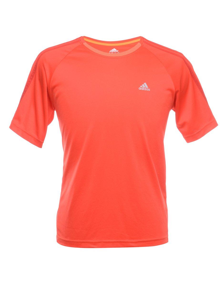 1990s Adidas Plain T-shirt - M