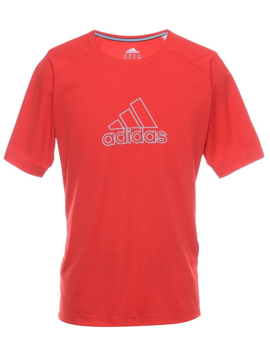 1990s Adidas Sports T-shirt - M