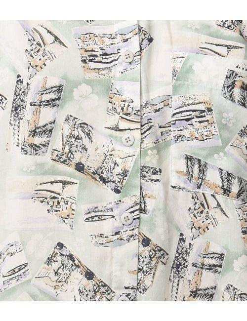 1990s Novelty Print Hawaiian Shirt - L