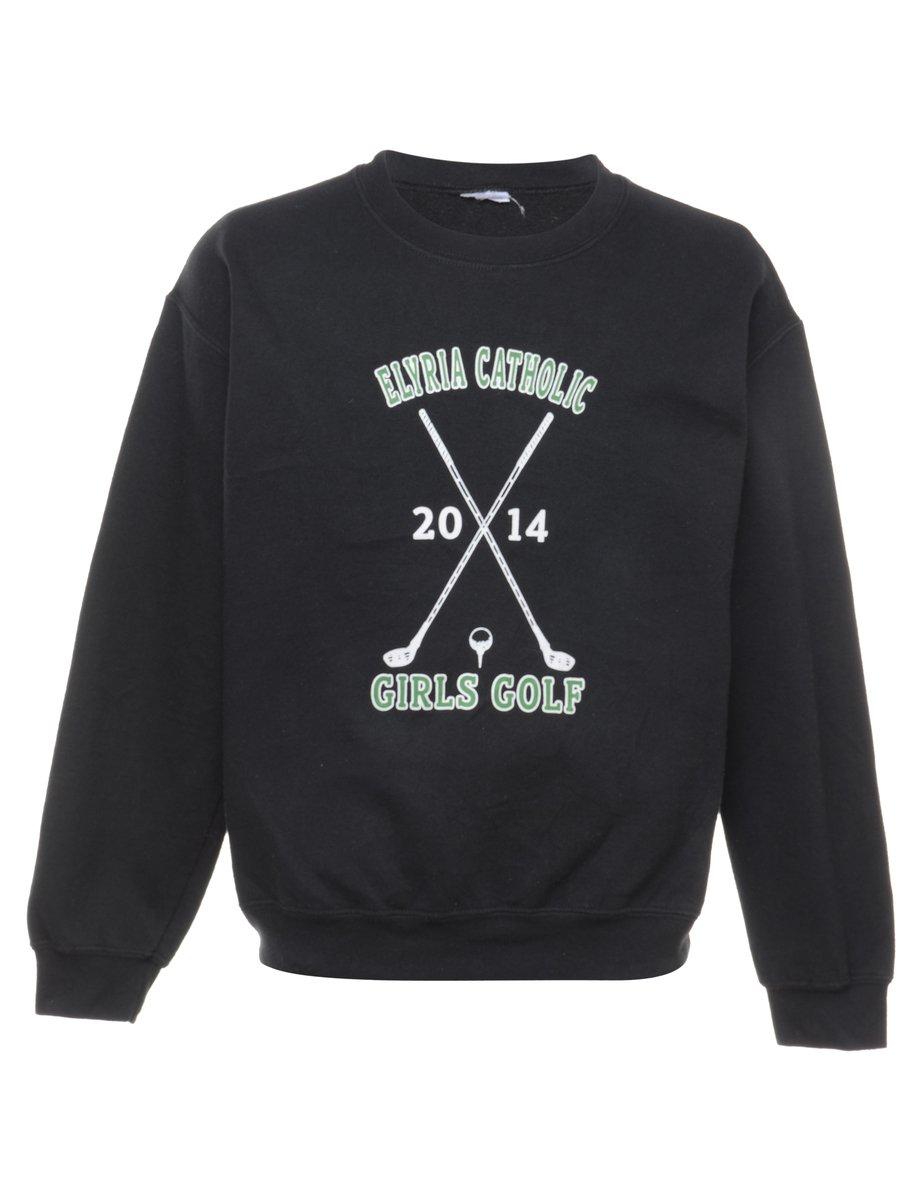 Beyond Retro 2000s Golf Printed Sweatshirt - L