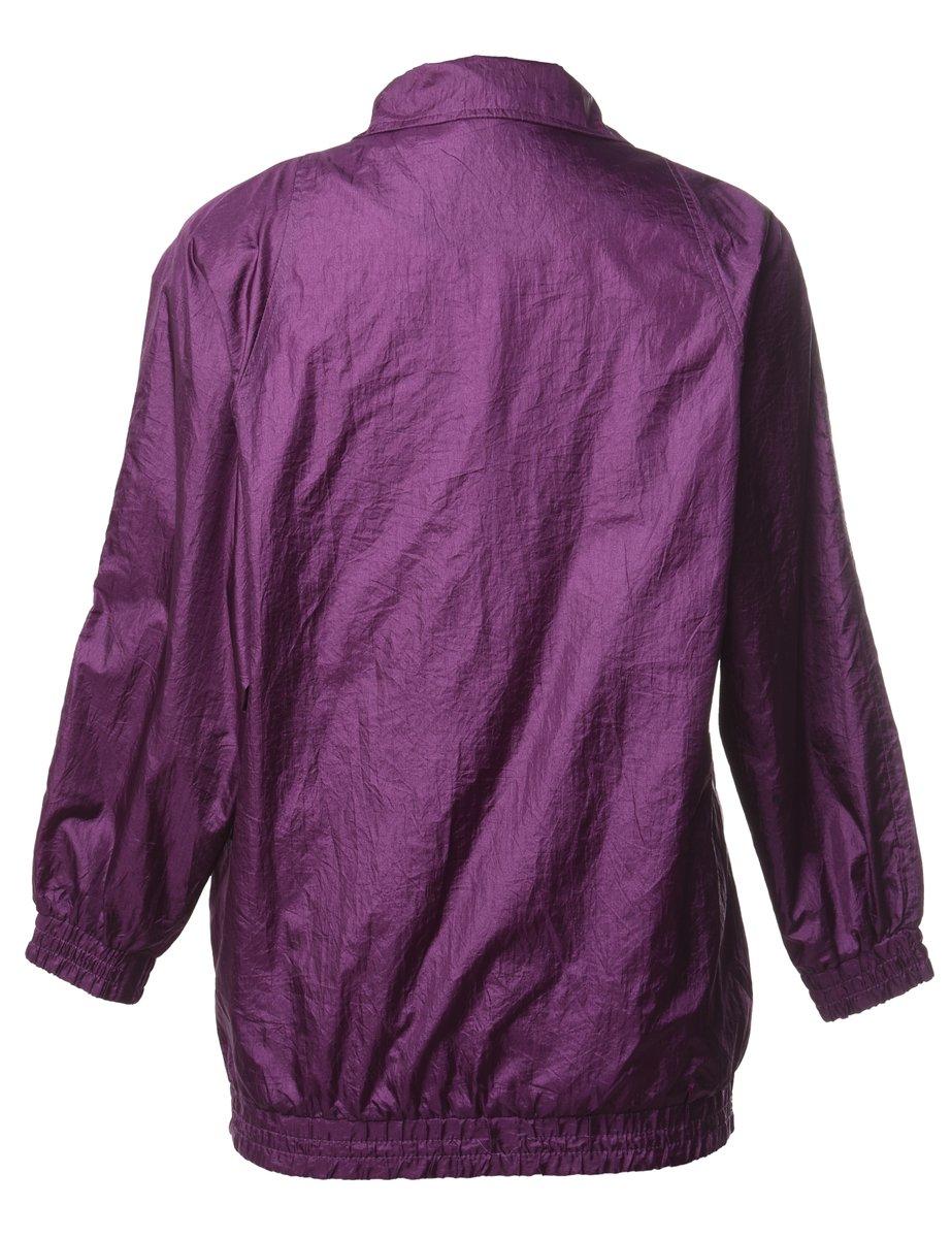 Beyond Retro 1990s Purple Nylon Jacket - S