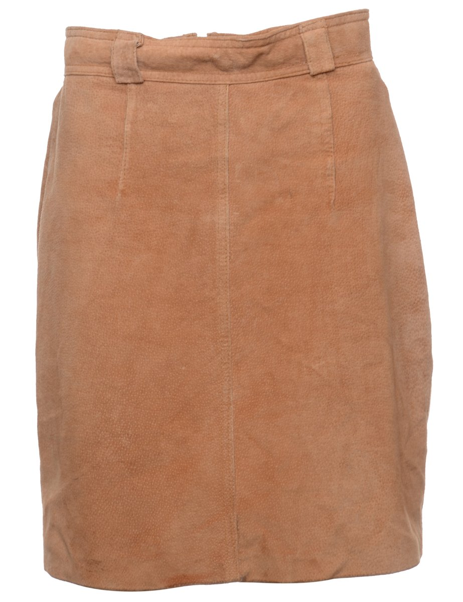 1990s Brown Skirt - M