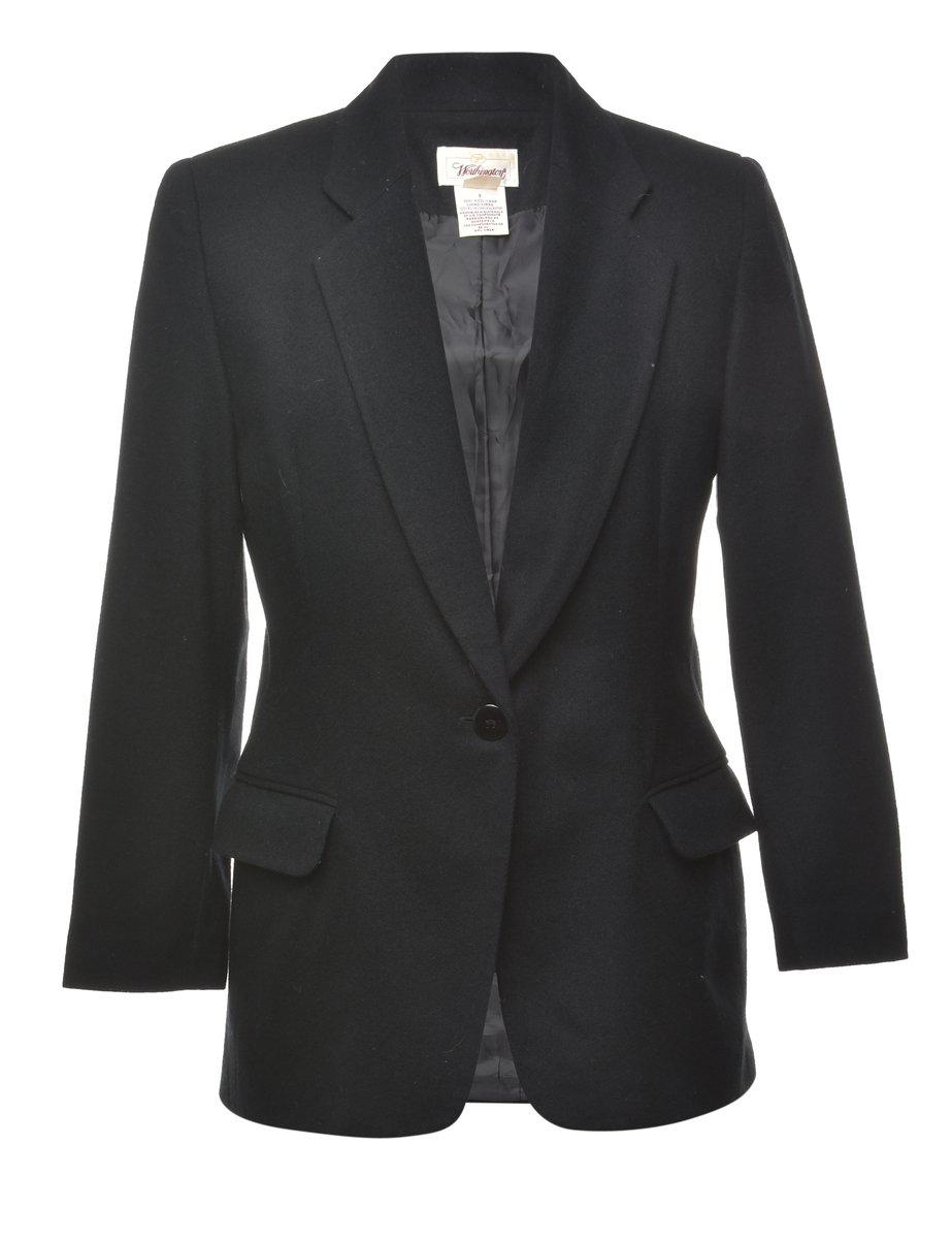100% Wool Blazer - M