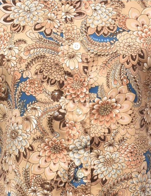 Beyond Retro 1970s Floral Shirt - M