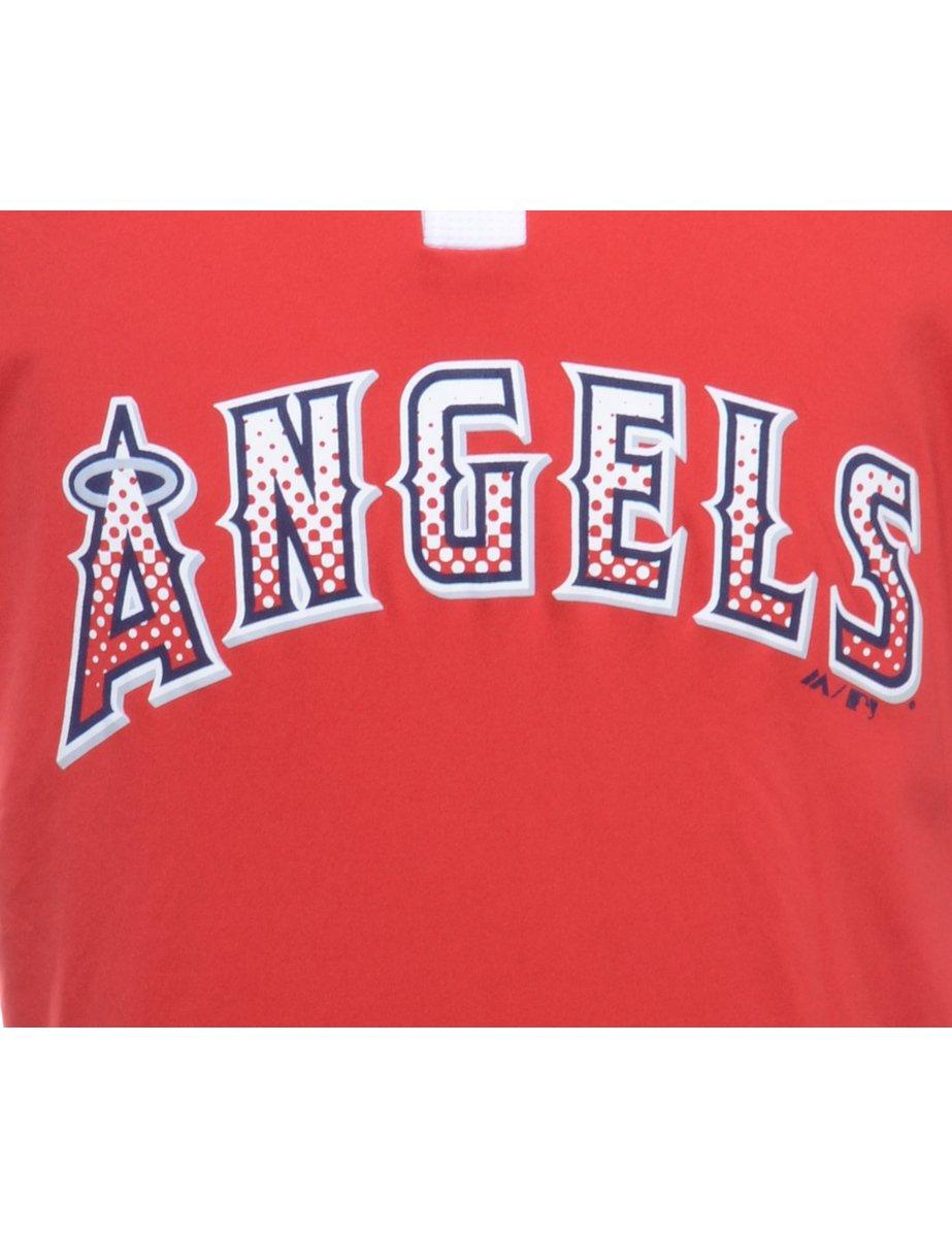 Beyond Retro 1990s Angels Baseball Sports T-shirt - L
