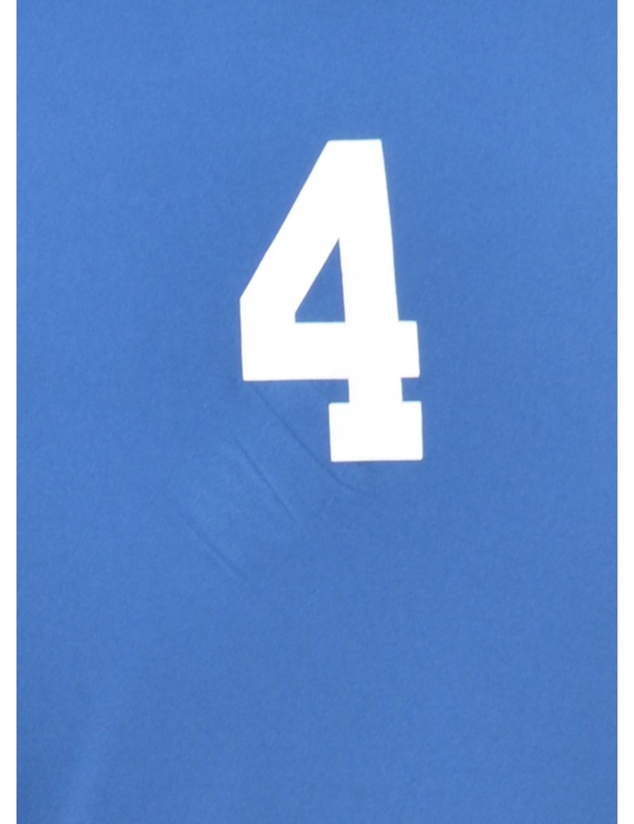 Beyond Retro 2000s Blue Sports T-shirt - M