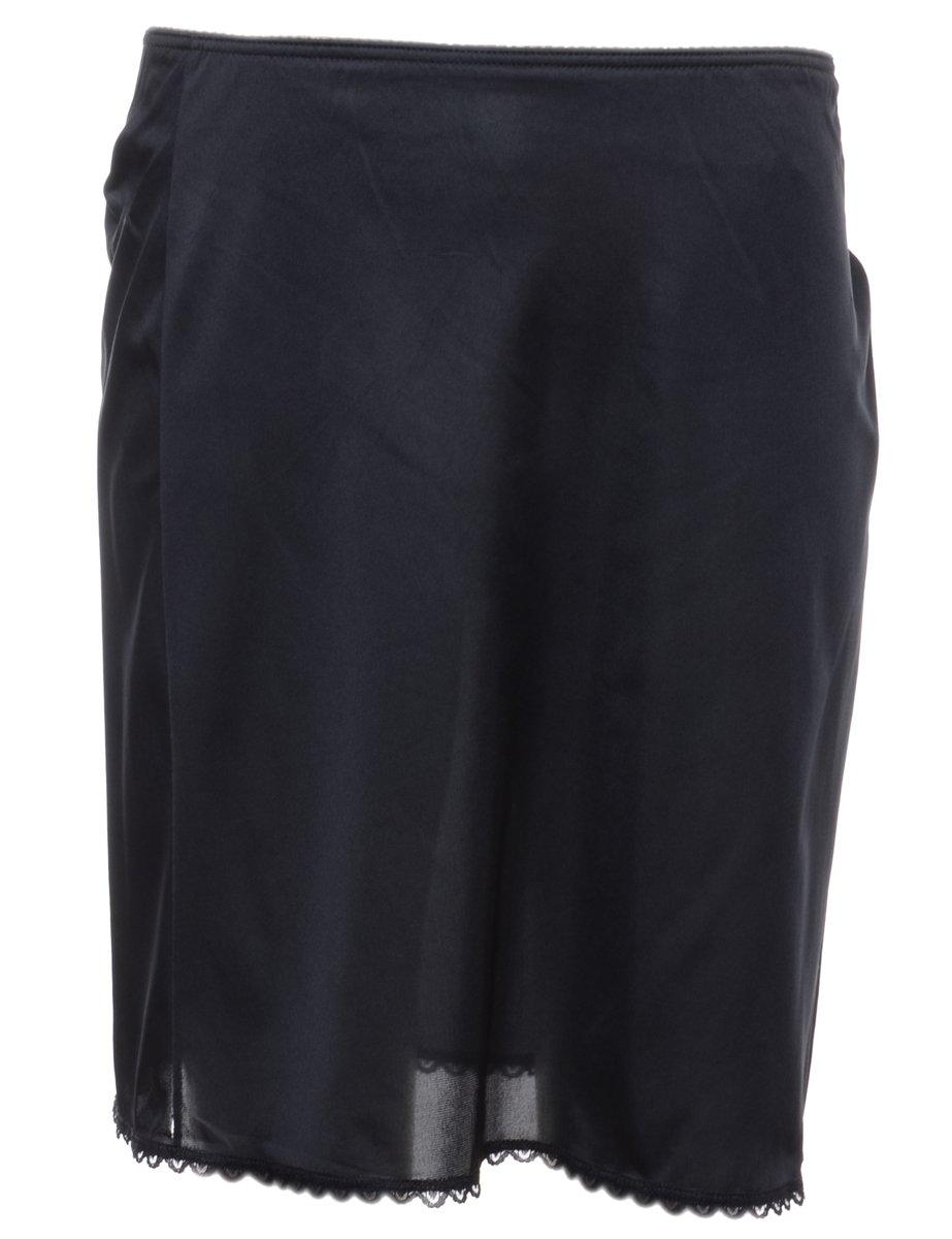 1990s Black Underskirt - XS