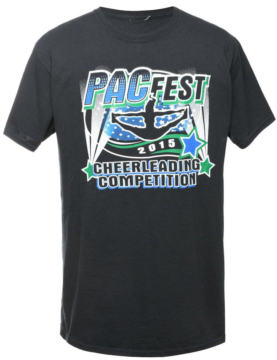 2000s Pac Fest Printed T-shirt - M