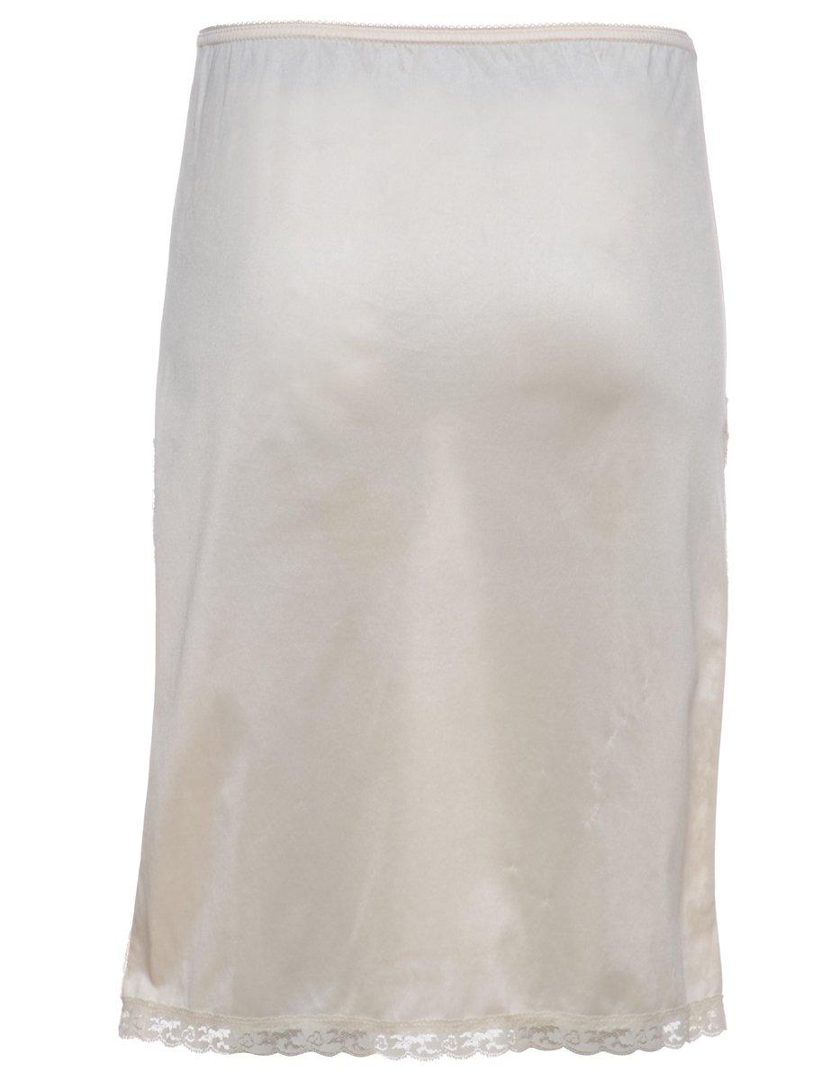 1990s Cream Underskirt - M